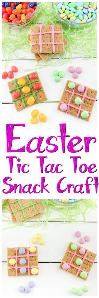 Easter Tic Tac Toe Snack Craft Pin
