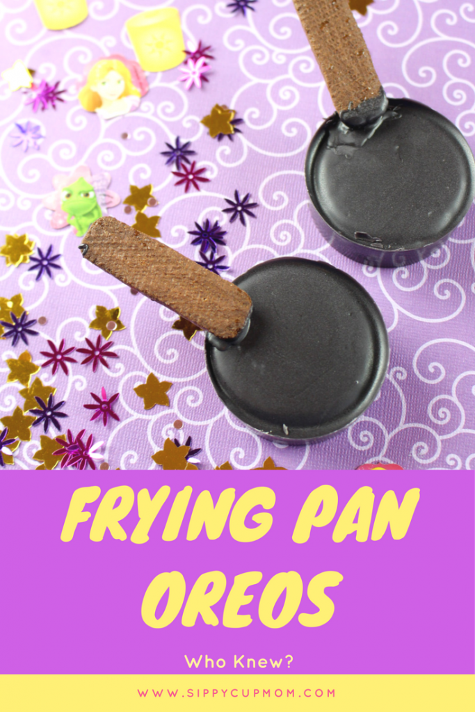 Tangled Inspired Frying Pan Oreos
