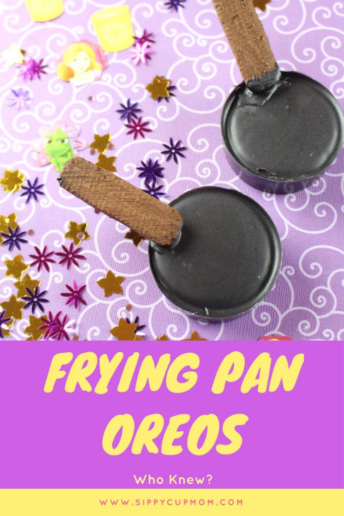 Tangled Inspired Frying Pan Oreos