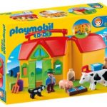 Fun On The Go With The PLAYMOBIL 1.2.3 My Take Along Farm
