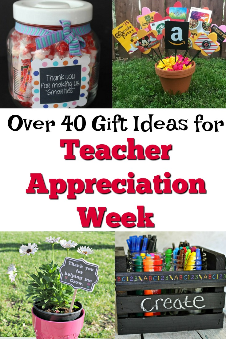 40+ Teacher Appreciation Gift Ideas