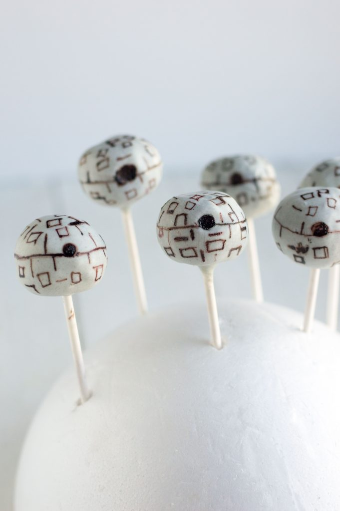 Death Star Cake Pops