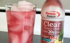 Premier Protein Clear Protein Drink in Tropical Punch Keeps Me Going
