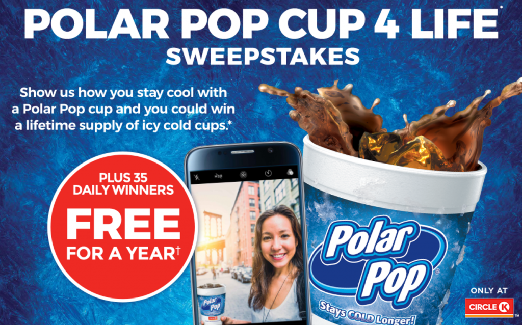 Win Polar Pop for Life from Circle K + $100 Gift Card