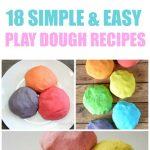 18 Homemade Playdoh Recipes