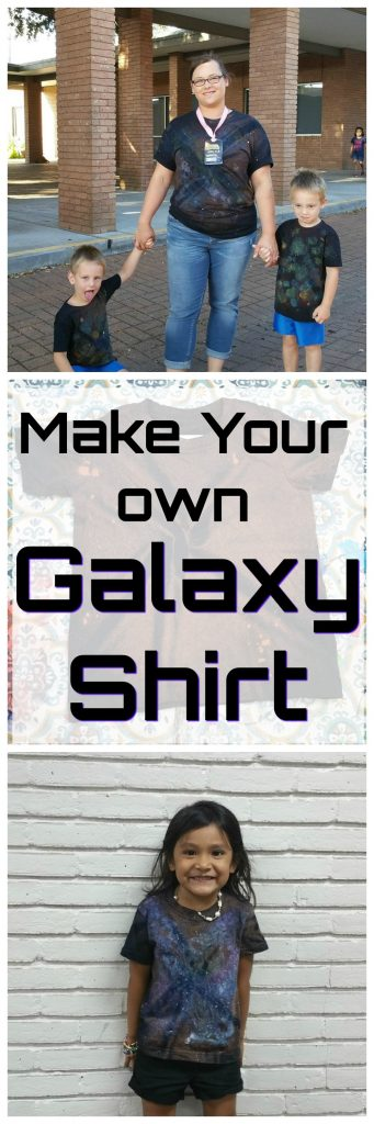 Make Your Own Galaxy Shirt