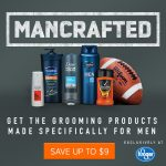 Stock Up And Save on ManCrafted Men's Grooming Products at Kroger
