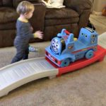 Win Christmas With The Thomas the Train Up & Down Roller Coaster
