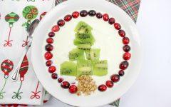 Christmas Smoothie Bowl with Premier Protein Shakes