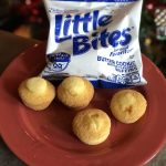 Celebrate the Holidays with Entenmann's Little Bites Butter Cookie Muffins
