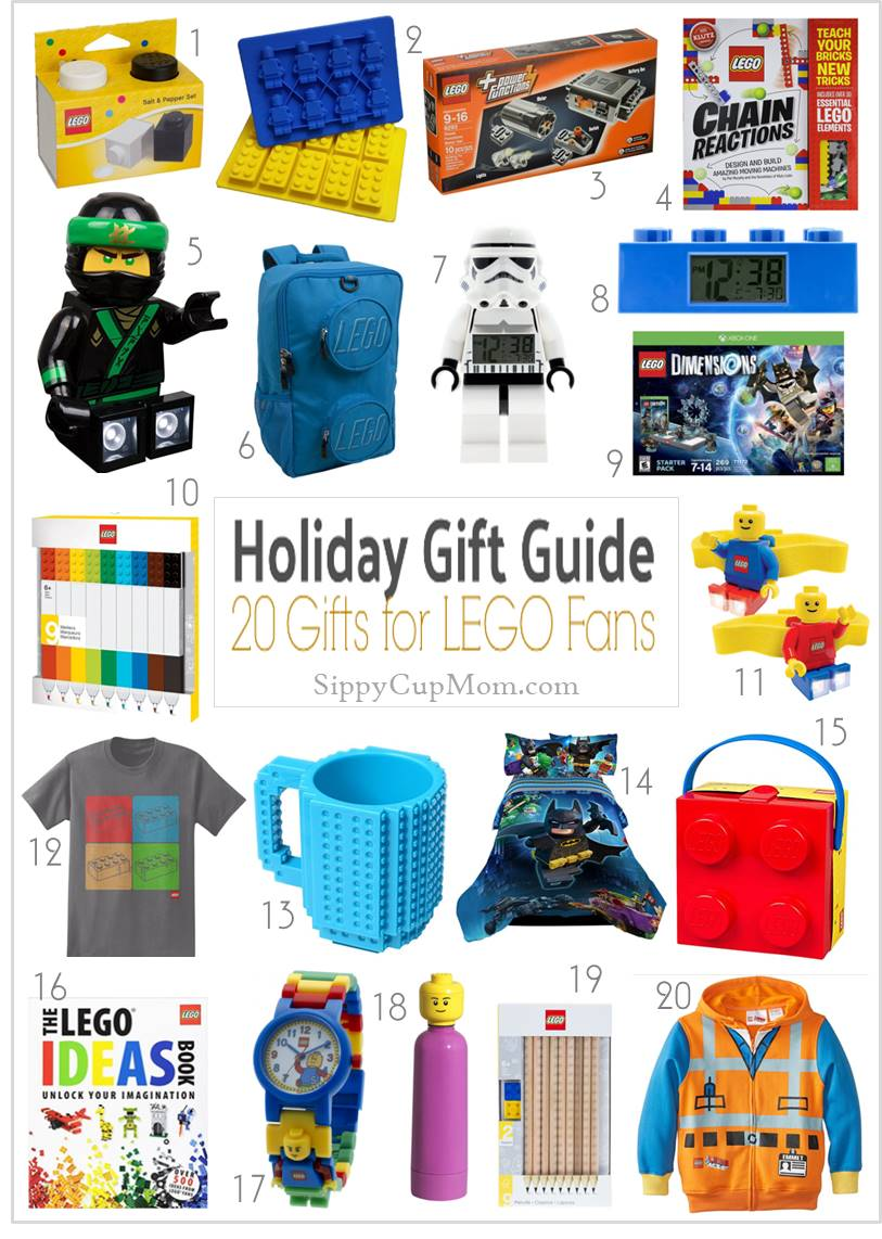 Awesome Lego Gifts For Christmas Sippy Cup Mom