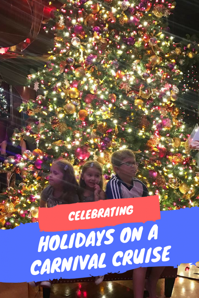 Celebrating the Holidays on a Carnival Cruise