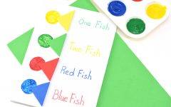 Red Fish, Blue Fish Painting