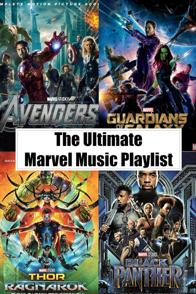 The Ultimate Marvel Movies Music Playlist - Sippy Cup Mom