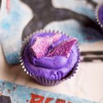 Black Panther Blu-ray and DVD + Vibranium Cupcakes