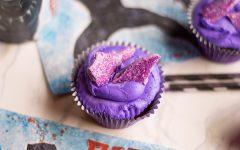 Black Panther Blu-ray and DVD + Vibranium Cupcakes