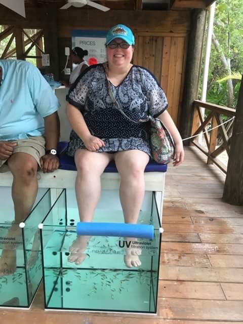 Mahogany Bay Fish Pedicure