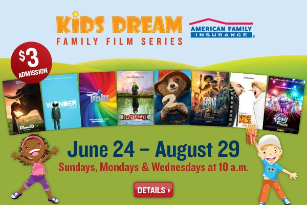 Marcus Theaters Kids Dream Summer Film Series