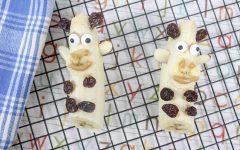 Banana Giraffes Kid's Snack