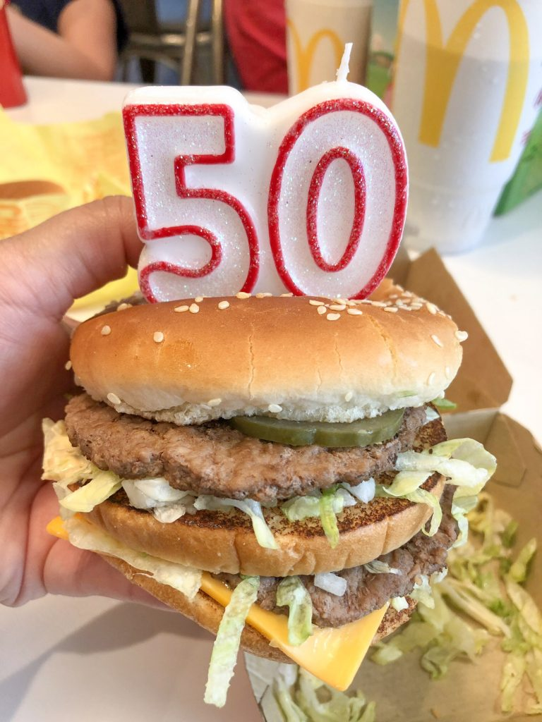 Mcdonald S Big Mac Turns 50 Years Old Sippy Cup Mom
