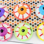 Glowing Eyeball Cupcakes