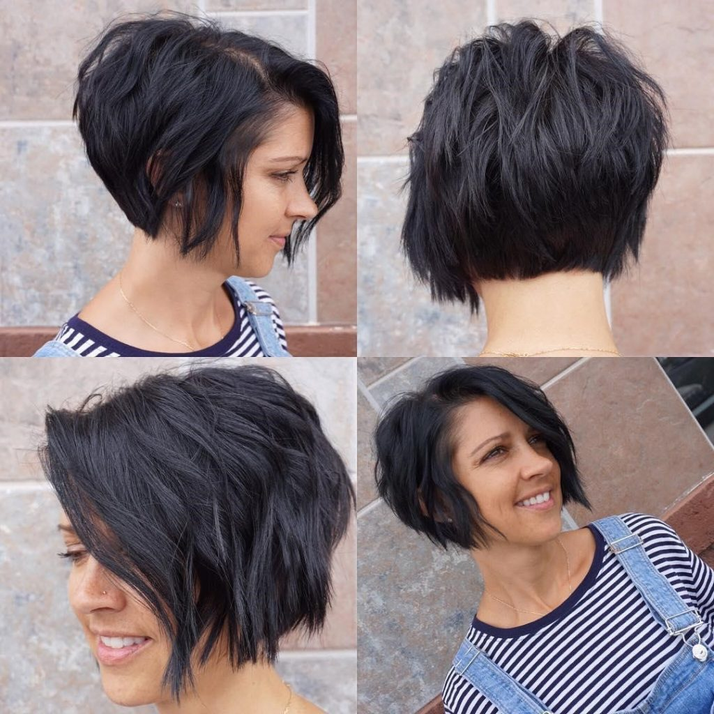 12 Exciting Asymmetrical Bob Haircuts Every Woman Wants To Try