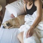 Can sleeping with your pet help you fall asleep?