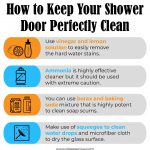 How to Clean Soap Scum & Hard Water Spots from Your Shower Doors